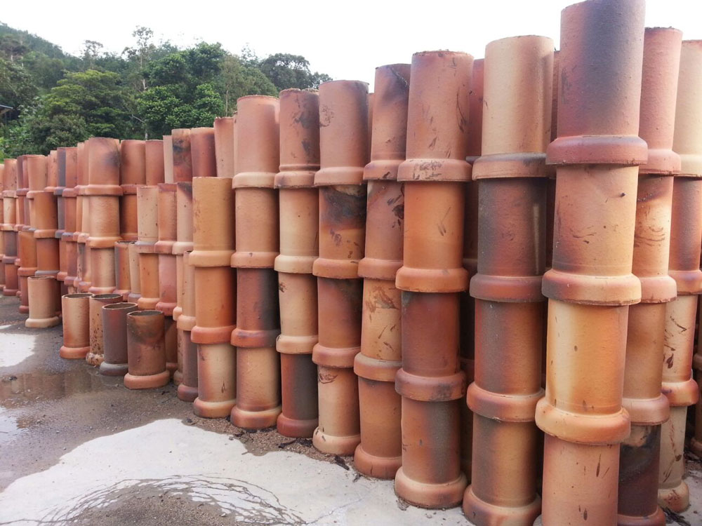 SALT GLAZED WARE PIPE